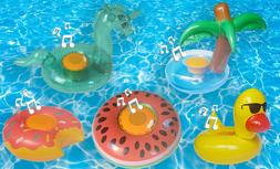 IPX7 Inflatable Floating Waterproof Bluetooth Speaker for Po