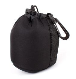 DURAGADGET Jet Black Neoprene Pouch Case in Size Small for T