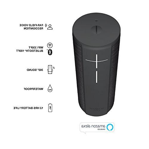 Ultimate Portable Wi-Fi with hands-free Amazon voice Graphite Black