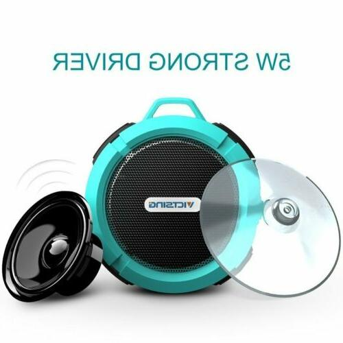 VicTsing SoundHot C6 Portable Bluetooth Waterproof  Suction