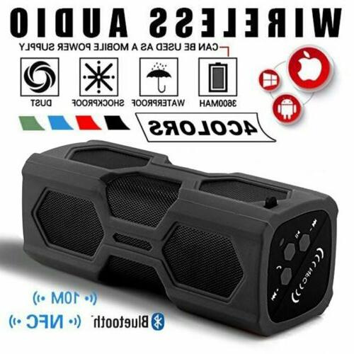 Wireless Bluetooth 4.2 Speakers Portable Subwoofer Super Bas