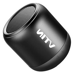 VTIN Mini Speaker with IPX5 Water-Resistant, Rich Bass and 3