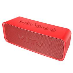 Vtin Portable Bluetooth Speaker with IPX6 Waterproof, Suppor