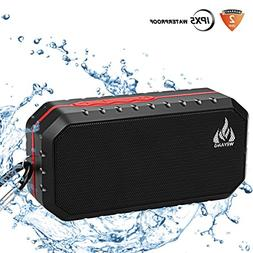 Portable Bluetooth Wireless Speakers, IP65 Waterproof Blueto